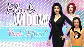 "Lets Play The Sims 4  Black Widow Challenge Episode 15 ""Right Under Her Nose!"""