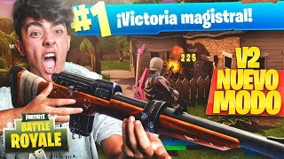 my best game in the new game mode * the SHOOTER V2 shooting * of FORTNITE: Battle Royale!