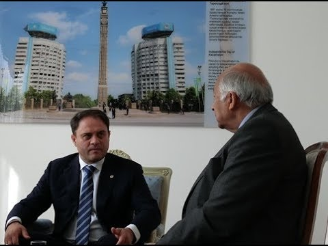 Kazakh Deputy Foreign Minister Roman Vassilenko gives a glimpse into the country's imminent future