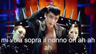 BIGBANG - FANTASTIC BABY parody italian misheard lyrics / canzone coreana italianizzata