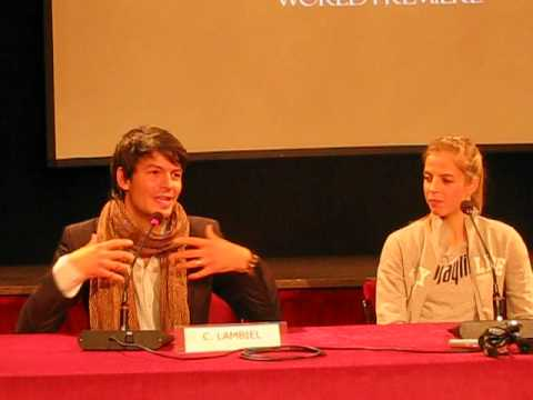 Stephane Lambiel - Opera on ice 2012, press conference