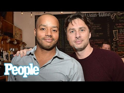 Scrubs: Zach Braff On Famous Bromance With Former CoStar Donald Faison  People NOW  People