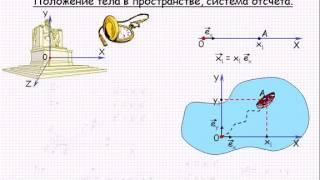 Механика  Положение тел в пространстве, система отсчета  Урок 2