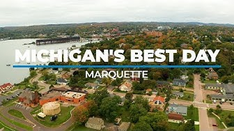 Michigan's Best Day checks out the fall colors in Marquette, Michigan
