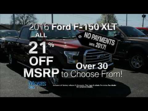 Moses Ford TV Spot November 2016