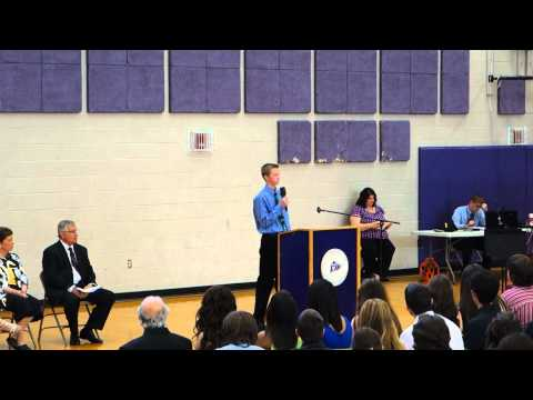 Fairgrounds Middle School Graduation Speech