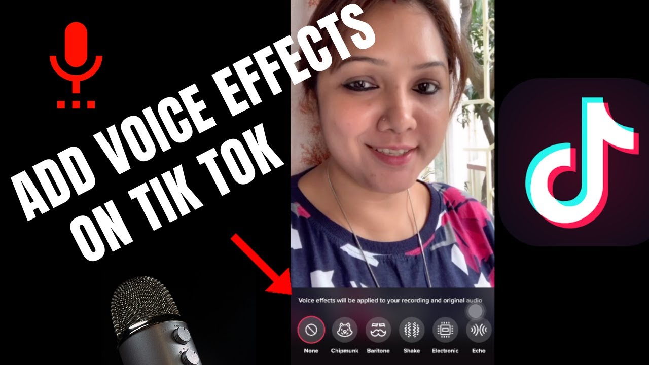 How To Add Voice Effects On Tiktok Youtube