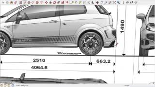 Sketchup Car 3 Importing a Picture