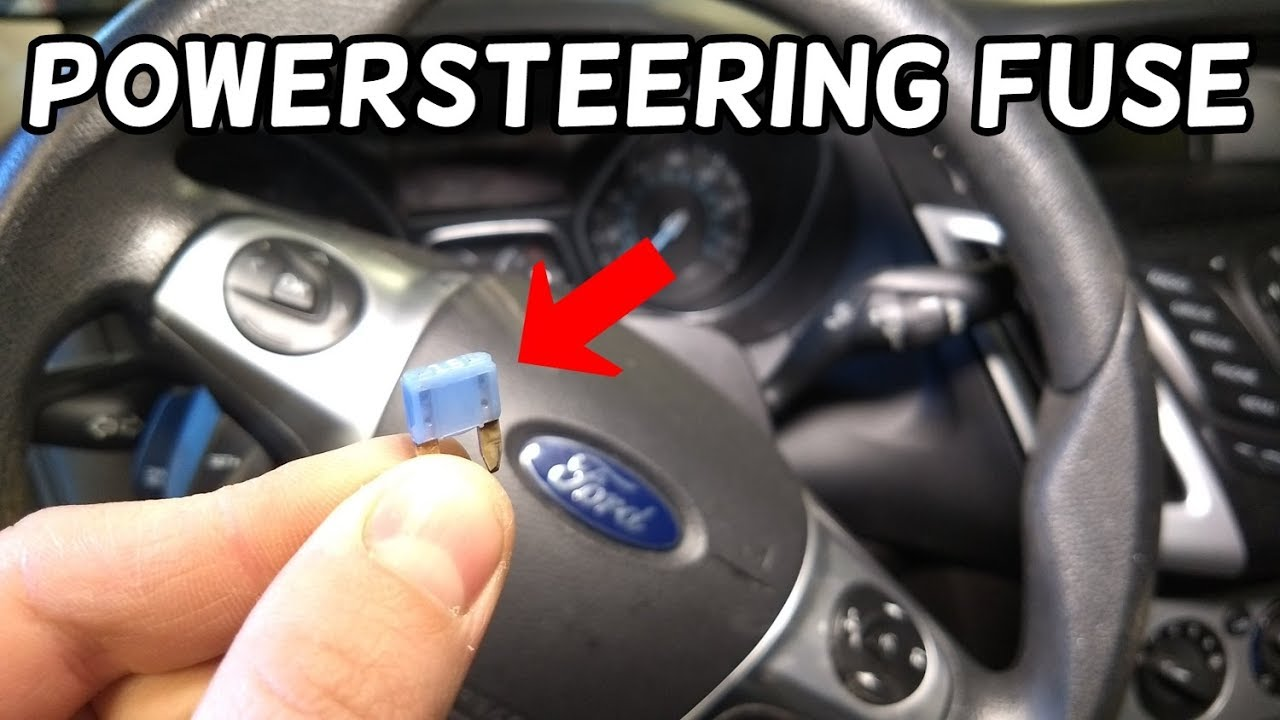 electric power steering assist fuse location ford focus. Black Bedroom Furniture Sets. Home Design Ideas