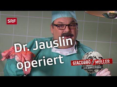 Dr.Jauslin operiert – Giacobbo  Müller