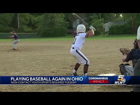 Youth Baseball Back In Ohio For First Time Since Coronavirus Outbreak