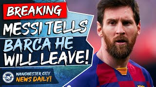 Lionel messi has told barcelona he wants to leave, fuelling speculation that could join manchester city. elsewhere gavin bazunu and cole palmer have exten...