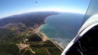 видео полеты на автожирах в Краснодаре
