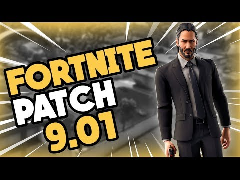 **NEW** Fortnite 9.01 Patch Notes & New *LEAKED* Skins & *New* Tactical Assault Rife!!