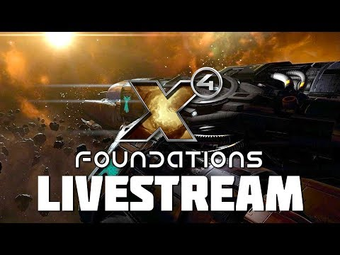 X4: Foundations - Release Gameplay - A Vast New Space Game!
