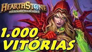 Hearthstone - 1000 Vitórias com