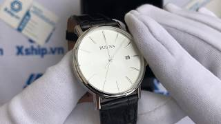 Xship.vn: Bulova Men's 96B104 Stainless Steel Dress Watch
