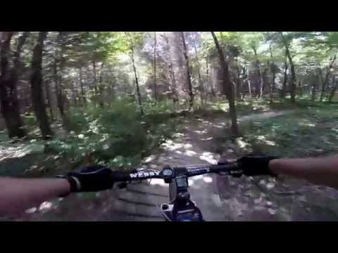 Versailles State Park Mountain Bike Shadow Run Trail 6/23/14