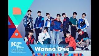 kcon 2018 la1st artist announcementwanna one
