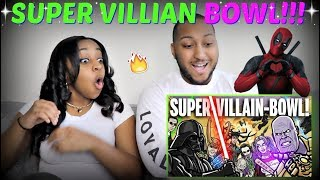 """SUPER-VILLAIN-BOWL! - TOON SANDWICH"" By ArtSpear Entertainment REACTION!!!"