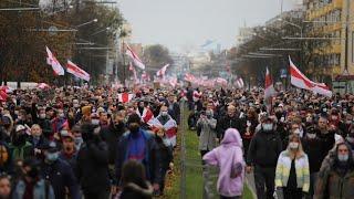Fresh protests erupt in Belarus ahead of national strike ultimatum