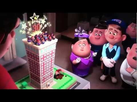 Wreck-It-Ralph Cake Scene
