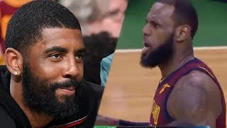Lebron James Trolled by Kyrie IRVING & Celtics Mafia after Game 1 Loss