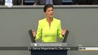 Wagenknecht: Sie täuschen die Öffentlichkeit bei der Autobahn GmbH 01.06.2017 - Bananenrepublik