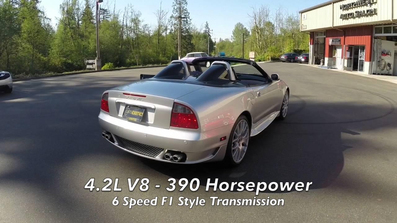 2005 Maserati Spyder 90th Anniversary For Sale - YouTube