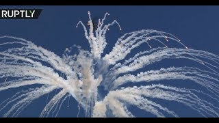 Terminators in the sky: Fighter jets & helicopters perform stunts at all-Russia Aviadarts