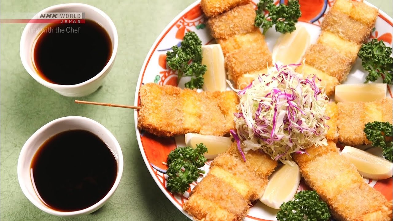 Photo of Chef Saito's Kushi-katsu [Japanese Cooking] – Dining with the Chef – video