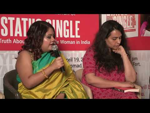 Status Single ,BOOK LAUNCH ,The Truth About Being Single Woman in India Hardcover