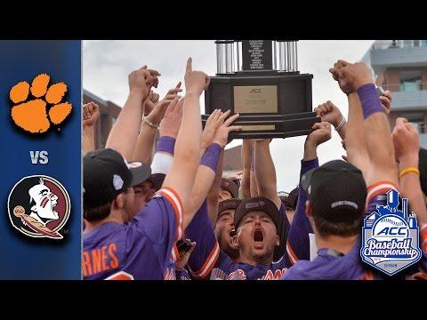 Clemson vs. Florida State Baseball Championship Game Highlights (2016)