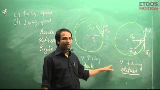 IIT JEE Main + Advanced | Physics | Circular motion | NM Sir from etoosindia.com