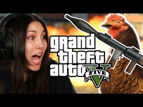 We Play Grand Theft Auto 5 As Animals (GTA V)