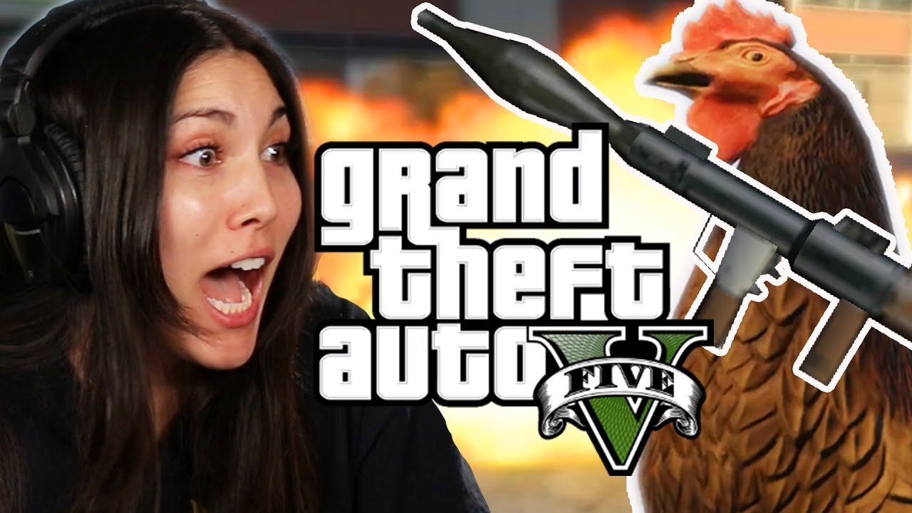 We Play Grand Theft Auto  As Animals Gta V