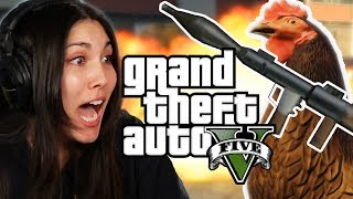 We Play Grand Theft Auto V As Animals