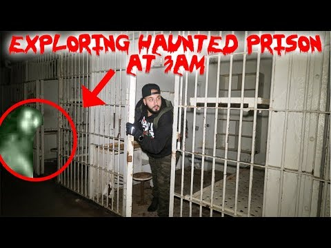 HAUNTED ABANDONED PRISON IN THE MIDDLE OF A DARK FOREST FT IRELANDBOYSPRODUCTIONS