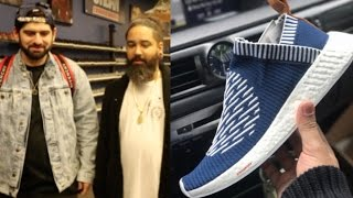 HE GOT ADIDAS NMD SAMPLES!!! (And look who else showed up...)