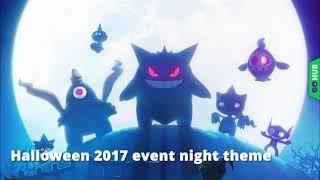 pokémon go halloween 2017 event music lavender night