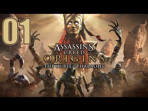 Assassin's Creed Origins - The Curse of the Pharaohs DLC - Let's Play Part 1 thumbnail