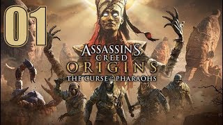 Assassin's Creed Origins - The Curse of the Pharaohs DLC - Let's Play Part 1