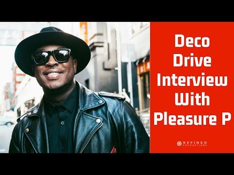 DECO DRIVE INTERVIEW - PLEASURE P - COULD YOU LOVE ME FT. FLO RIDA & BLACK SAINT