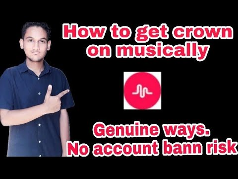 How to get crown on musically in hindi