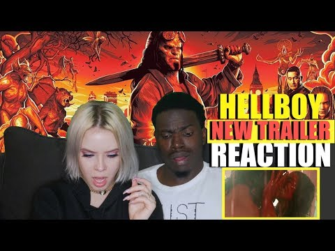 """Hellboy (2019 Movie) New Trailer """"Red Band"""" – David Harbour, Milla Jovovich, Ian McShane REACTION"""