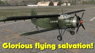 Glorious Flying Salvation! (DayZ mod)