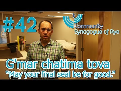 Rabbi Gropper on Yom Kippur