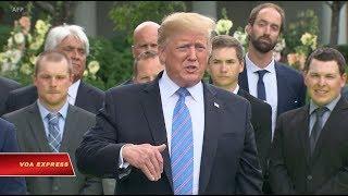 Trump dọa áp thêm thuế nếu Tập không chịu gặp ở G-20 (VOA)