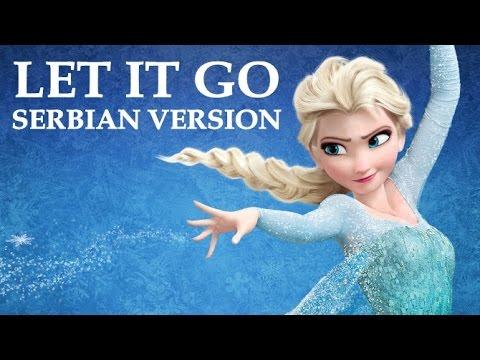 Frozen - Let It Go (Serbian Version) - Sad je kraj (Lyrics)
