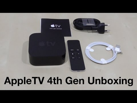 Apple TV 4th Gen Unboxing (Indonesia)